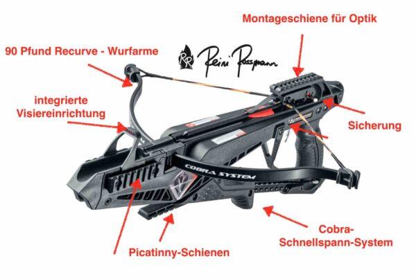 EK X-Bow Cobra Armbrust