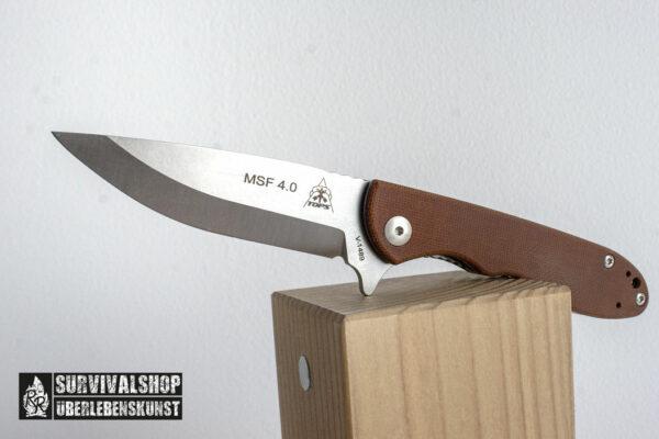 TOPS KNIVES Mini Scandi Folder