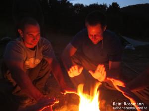 Survival Training Feuermachen