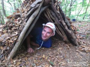 Survival Training Unterkunft 2
