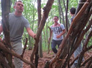 Survival Training Unterkunftsbau