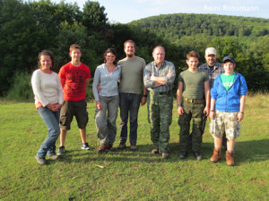 Survival Training Day August II_-Gruppe