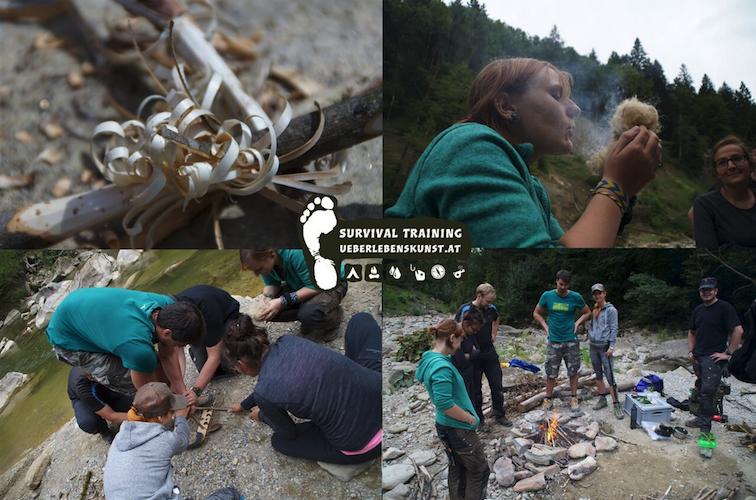 Survival Vorarlberg Training