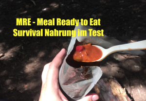 MRE Meal ready to Eat Survival