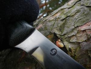 Survival Messer Chris Caine Knife scharfer Klingenrücken