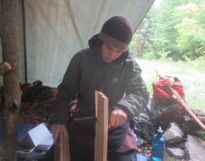 Bushcraft Training Batoning