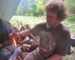 Bushcraft Training Fire Teaching
