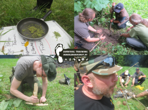 Survival Training Nahrung 2014