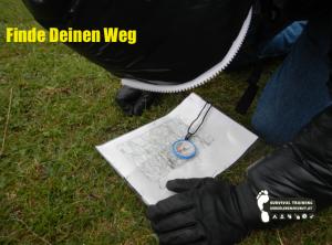 Orientierung & Navigation Survival Kompass