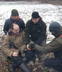 Outdoor Erste Hilfe Kurs Winter