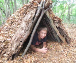 Kinder Survivalcamp Tag