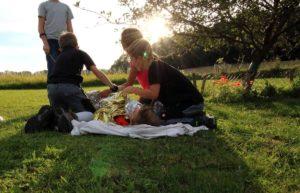 Kinder Outdoor-Geburtstagfeiern